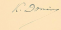 Signature of Karel Domin.png