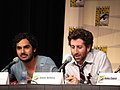 Simon Helberg, Kunal Nayyar (The Big Bang Theory).jpg