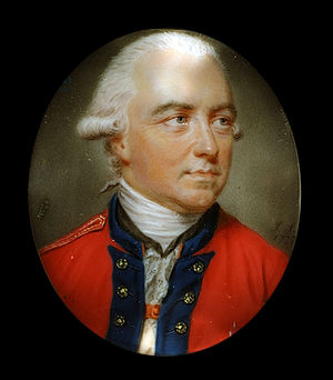 Charles Cornwallis, 1st Marquess Cornwallis - Portrait of Sir Henry Clinton by John Smart, c. 1777