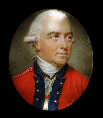 Henry Clinton (British Army officer, born 1730) - A portrait of Clinton by John Smart, c. 1777