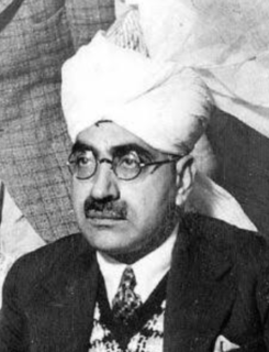 Sikandar Hayat Khan (Punjabi politician) politician