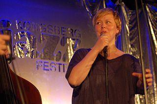 Siri Gjære Norwegian jazz vocalist from Levanger (born 1972)