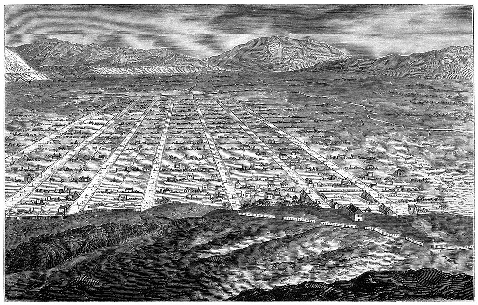 Sketch of Salt Lake 1860