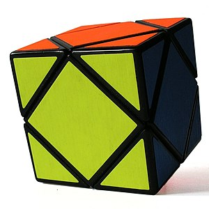 Skewb - The Skewb in solved state