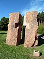 Skulpturen von Reiner Fest zwischen Trippstadt und Langensohl - panoramio.jpg