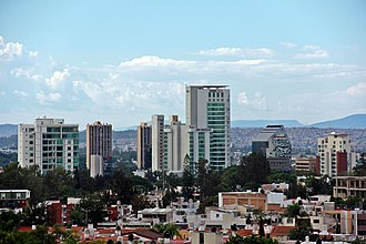 Metropolitan areas of Mexico - 2 - Guadalajara, Jalisco.