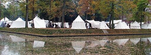 Slag om Grolle 2008 - Kampement Scherpenbergbolwerk Groenlo