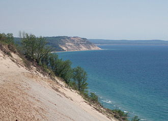 Sleeping Bear Dunes National Lakeshore - Image: Sleeping Bear Dunes