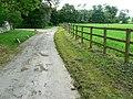 Small road near The Manor, East Kennett - geograph.org.uk - 834724.jpg