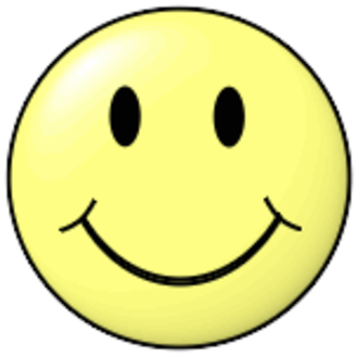 Personal Choice Party - The logo of the Personal Choice Party is a generic stylized smiling face, similar to this one.