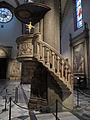 Smn, navata sx, il buggiano, pulpito su disegno di f. brunelleschi 01.JPG