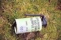 Smoke Grenade, Cardinham Moor - geograph.org.uk - 621690.jpg