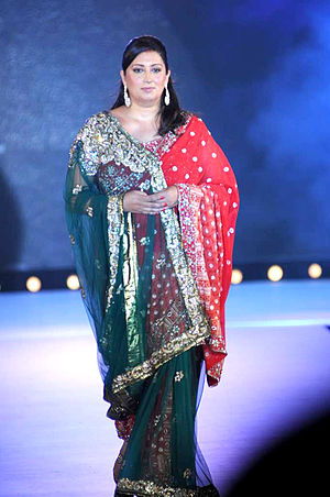 Smriti Irani - Image: Smriti Irani walks for Manish Malhotra & Shaina NC's show for CPAA 13
