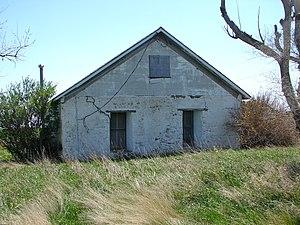 Wallace W. Waterman Sod House - Image: Sod House NE