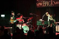 Solander auf dem Way Back When Festival, 2014