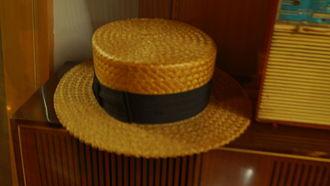 "Montubio - A ""tostada"", traditional Montubio hat"