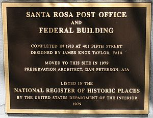 Museums of Sonoma County - Historic Santa Rosa Post Office