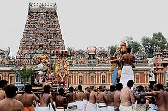 Sri Kandaswamy Kovil, Brickfields - Soora Samhaaram 2011 Simitha
