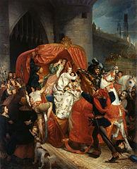 La Duchesse de Bourgogne arrêtée aux portes de Bruges