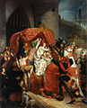 Sophie Rude - La duchesse de Bourgogne arrêtée aux portes de Bruges - 1841.jpg