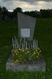 Soposhyn Zhovkivskyi Lvivska-brotherly grave of soviet warriors-2.jpg