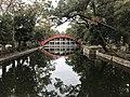 Sorihashi Bridge in Sumiyoshi Grand Shrine 8.jpg