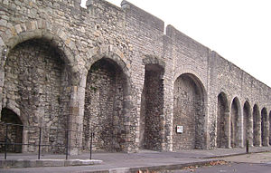 History of Southampton - The medieval city wall