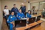 Soyuz MS-15 crew members practice rendezvous techniques.jpg