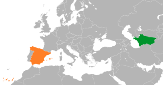 Spain–Turkmenistan relations
