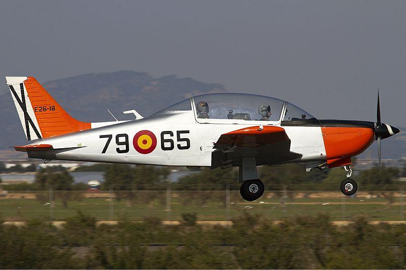 File:Spanish Air Force CASA T-35C Tamiz (ECH-51) Lofting.jpg