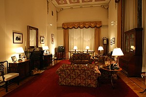 Spaso House - The library of Spaso House