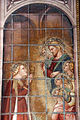 Spinello aretino, Caterina in prigione converte la regina con le dame e riceve la visita di Cristo 04.JPG