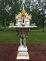 Spirit house at King Chulalongkorn Memorial, Sweden II.jpg