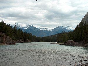 Spray River - Image: Spray River