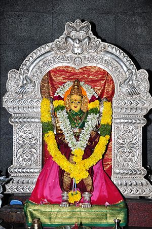 Iconography of Shiva temples in Tamil Nadu - Parvati Shrine within a Shiva temple