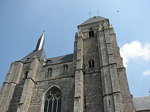 St. Leonard's Church, Zoutleeuw - West front