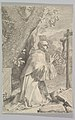 St. Bernard Kneeling Before a Crucifix MET DP822285.jpg