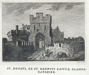 St. Donats, or St. Denwits castle, Glamorganshire