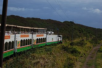 Transport in Saint Kitts and Nevis - St. Kitts Scenic Railway