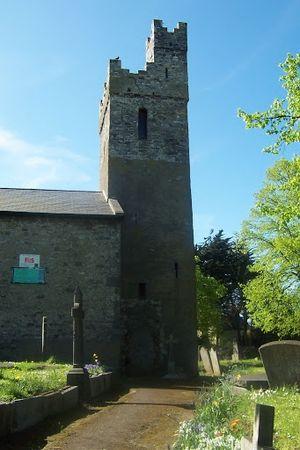 Crumlin, Dublin - St. Mary's Church, Crumlin Village, Dublin - South East View.