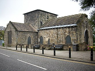 South Queensferry - St Mary's Episcopal Church, formerly a Carmelite monastery, dates from the 1450s