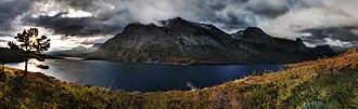 Saint Mary Lake - Image: St. Mary Lake