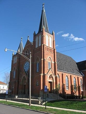 Henry K. Moeller - St. Patrick's Church, Bellefontaine