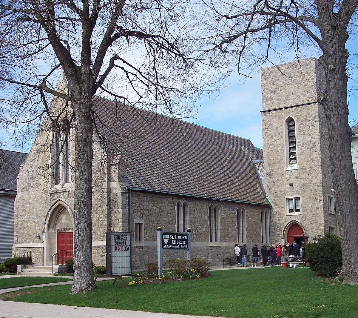 St Simon S Episcopal Church Wikipedia