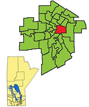 St. Boniface (provincial electoral district) - Image: St Boniface 2011