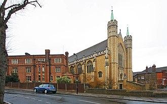 Ealing Abbey - Image: St Benedict's Ealing Abbey, Charlbury Grove, London W5 geograph.org.uk 1750462