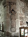 St Giles statue at Haughton.jpg