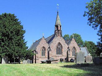 Alvanley - Image: St John's Church, Alvanley