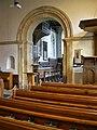 St John, Westfield, chancel arch 02.jpg