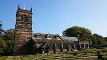 St Mary's Church, Rostherne, September 2014.JPG